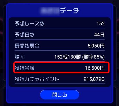 TIPSTAR 無料の競輪予想・投票サイト 払戻金1万円突破