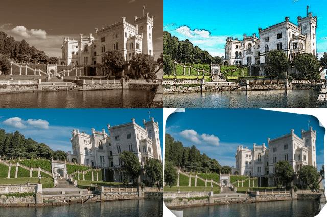 無料の画像編集ソフトPhotoscapeX 効果を加えた画像