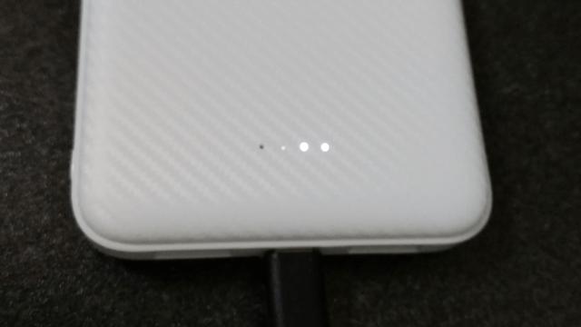 Qoo10 激安ヒーター付きベスト レビュー モバイルバッテリー購入 充電ランプ