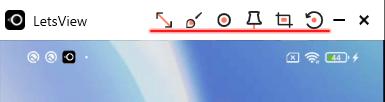 LetsViewの使い方 スマホ画面をミラーリング 操作方法