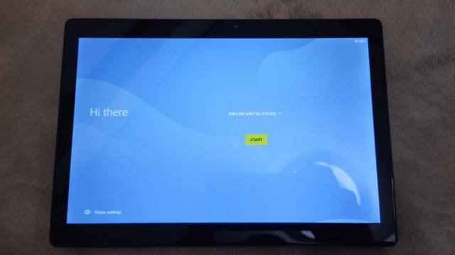 VANKYOタブレットS30 2021NEWバージョンレビュー 初期設定