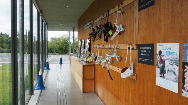 盲導犬の里 富士ハーネス 展示物