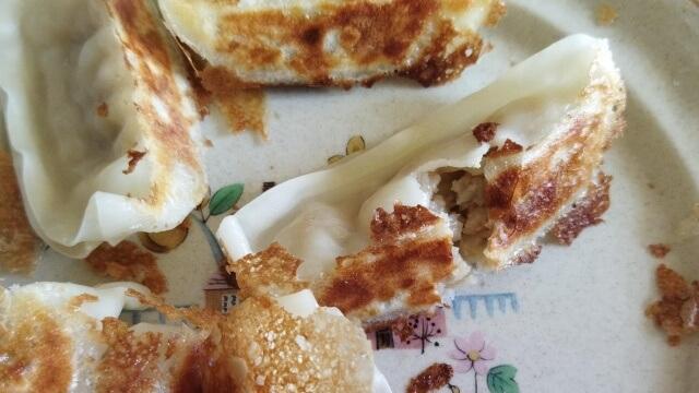 大阪王将 Qoo10で購入した冷凍餃子 焼いてみた口コミ スーパー